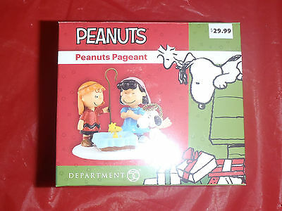 Department 56 Peanuts Pageant - Snoopy, Charlie Brown, Lucy - NIB