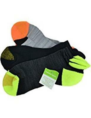Gold Toe Premier Fashion Sport 3 Pair Tab Liner Socks Size 9-11 Assorted Colors