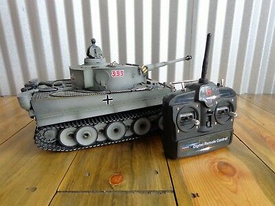 1:16 Taigen German Tiger I 1 RC Tank 2.4GHz Battery-Control 1/16 Airsoft