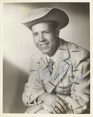 Jack Roberts - 6 8x10 Promotional Photos One is Signed - Grand Ole Opry