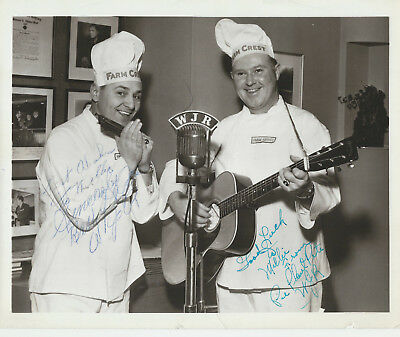 Jack Kingston Rickey Sears + More - 5 8x10 Promo Photos Signed - Grand Ole Opry
