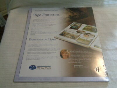 Lot Of 7 Creative Memories 12 X 12 Page Protectors 15 Sheets  Each New In Pkg