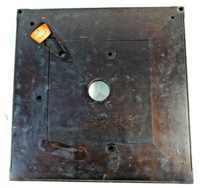 VTG 1920 Victor Victrola VV XI Upright Phonograph Part - Motor Board