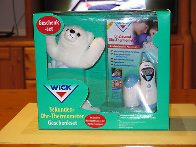 Sekunden Ohr-Thermometer WICK Ohrthermometer Fieberthermometer Kinderthermometer