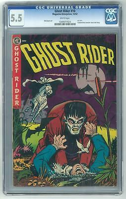 Ghost Rider #10 CGC 5.5 - White Pages!
