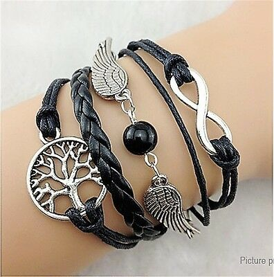 Tree & Wing Women's Braided Bracelet US SELLER!!!! lot# 1