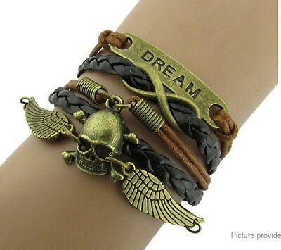 Dream Angel Wing Women's Braided Bracelet US SELLER!!!! lot# 11