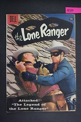 The LONE RANGER #113 Vintage Dell Western Comic Book 1957 A150