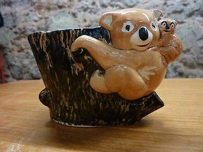 Brentleigh ware Staffordshire England Koala bear with baby rare very cute