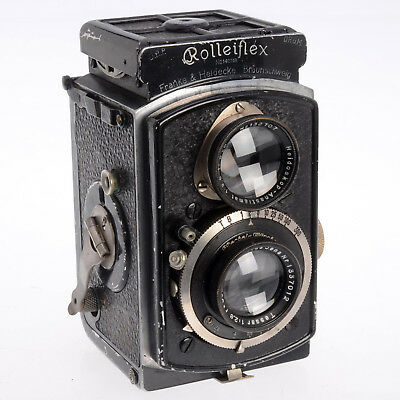 Rollei Baby Rolleiflex K1 4RF, Germany 1931, TLR w Zeiss Lens - RARE COLLECTIBLE