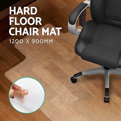 NEW Hard Floor Work Office Chair Mat Thick Vinyl Plastic Chairmat Protector