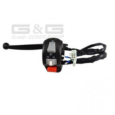 SWITCH UNIT BRAKE LEVER LEFT FOR ATU Explorer Race GT Spin Keeway CPI