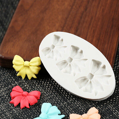 Small Bow Tie Silicone Fondant Chocolate Mould Cake Decorating Mold Baking Tools