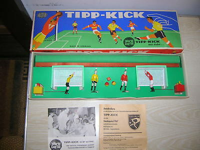 "Altes TIPP KICK Tischfussball-Spiel ""originale World Cup 1966"" Version - RAR"