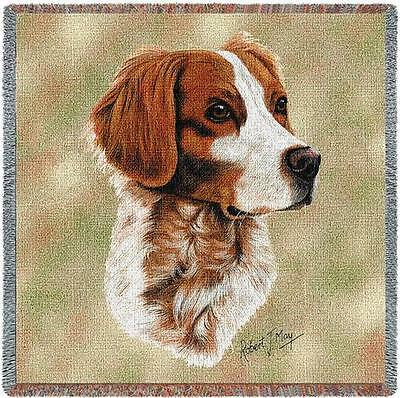 Lap Square Blanket - Brittany by Robert May 1154