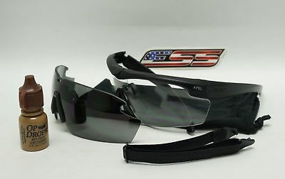 ESS Cross-Series Crosshair APEL 2LS Kit Safety Glasses - NEW / RX29A/30