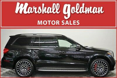 2017 Mercedes-Benz GL-Class  2017 Mercedes Benz GLS63 Black metallic P1 pkg, only 12,800 miles