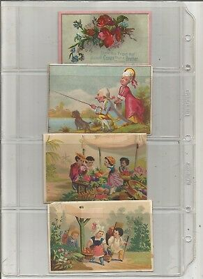 1800's To Early 1900's Victorian Trade Card Collection