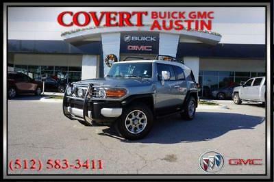 2012 Toyota FJ Cruiser Base Sport Utility 4-Door 2012 Toyota FJ Cruiser SUV 4X4 Bluetooth Key Less Entry Spacious Clean