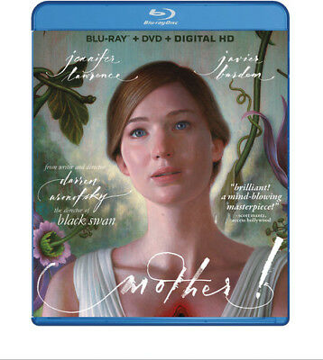 Mother! [New Blu-ray] With DVD, Widescreen, 2 Pack, Ac-3/Dolby Digital, Amaray