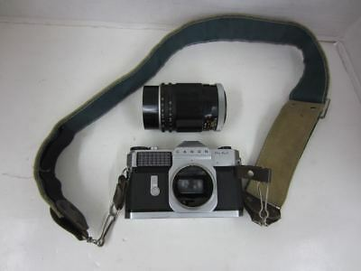 Canon CANONFLEX RM 35mm SLR Film Camera w/ Super-Canomatic R 135mm 1:25 Lens