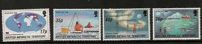 British Antarctic Terr. Sg260/3 1996 Antarctic Research Mnh