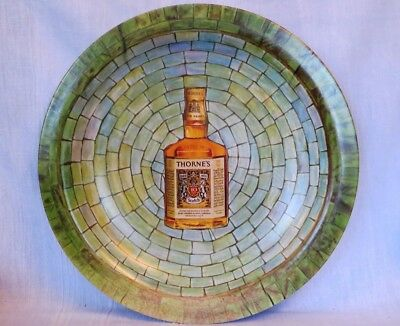 """Vintage Thorne's Scotch Whiskey 13"""" Tray Waverly Products"""