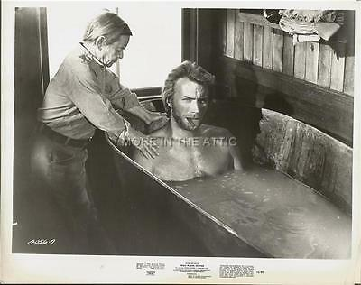Spaghetti Western Star Clint Eastwood Is The High Plains Drifter Orig Still #5