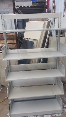 Library Shelving - cantilever - double sided