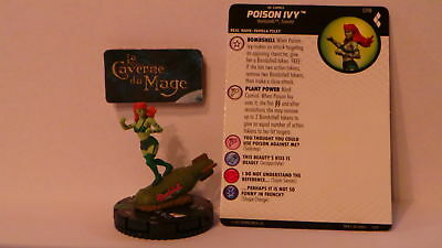 HEROCLIX HARLEY QUINN AND THE GOTHAM GIRLS #018 Poison Ivy *UC*