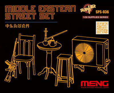 Meng Middle East Street Set Mittlerer Osten 1:35 Bausatz Kit Art SPS-036 Resin