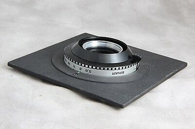 Sinar DB M DBM Lens Board, Not Common, Copal #1 Cell Mounting