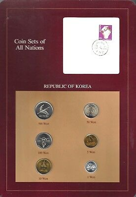 Coins Of All Nations - Republic Of Korea