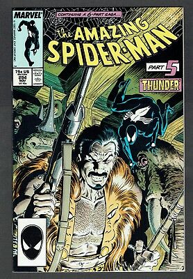 Amazing Spider-Man #294 Marvel Comics 1987 NM- Kraven's Last Hunt Part 5 Zeck