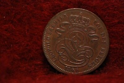 Belgium, 1846 Centime, Extremely Fine,                             Or Best Offer
