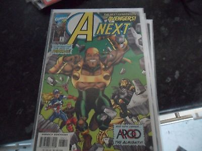 A-NEXT (The next generation of AVENGERS) - Vol 1 - No 6 - Date 03/1999 - Marvel
