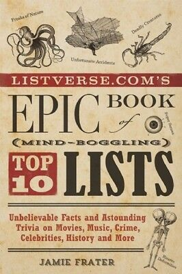 Listverse.com's Epic Book of Mind-Boggling Lists (Paperback), FRA...