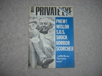PRIVATE EYE MAGAZINE - No. 357 - 22nd AUGUST 1975