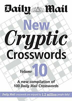 Daily Mail: New Cryptic Crosswords 10 (The Daily Mail Puzzle Books) 0600621022
