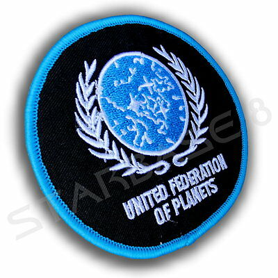 United Federation Of Planets Ufp - Star Trek Uniform Aufnäher - Starfleet Patch