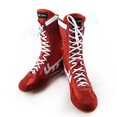 Hot Boxing Shoes Adults Wrestling Practice Boots Lace Up Sports Grappling Shoes