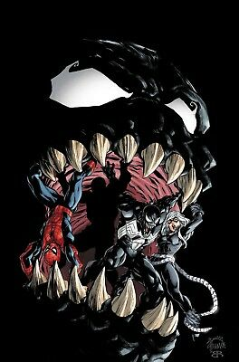 AMAZING SPIDER-MAN VENOM INC OMEGA #1 LEGACY Cover A - 1/17/18+