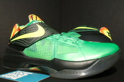 16f2bacddc6e Nike Zoom Kevin Durant Kd Iv 4 Weatherman Lush Green Black Orange 473679-303  8