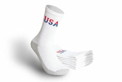 MEN'S ATHLETIC CREW SOCKS - WGS-CUSA - SIZE 10-13(Wholesale Lot of 180 Pairs)