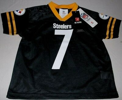 013de69c5 Ben Roethlisberger  7 Pittsburgh Steelers Kids Jersey Black New With Tag NFL