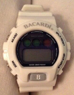 Barcardi Watch, Used, Needs New Batteries And/or Fixing