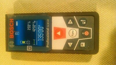 NEW out of box BOSCH GLM 42 LASER MEASURE