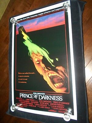 Prince Of Darkness Original Rolled One Sheet Poster   Horror  John Carpenter