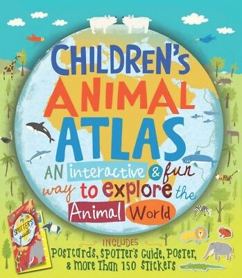 Children's Animal Atlas (Hardcover), Taylor, Barbara, Wiehle, Kat...