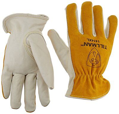 Tillman Men'S Leather Driving Gloves Top Grain/Split Cowhide 1414, M-Xl